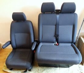 VW TRANSPORTER T5 TASSIMO CAPTAINS SEATS