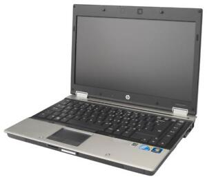 "Hp elitebook 8440P Intel Core I5- 2.4 Ghz - 4Go DDR3 - 250 GO HDD - DVDRW - 14.1"" - Display port (HDMI) - Win 7 Pro ou W"