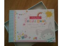 Brand new baby girl record book