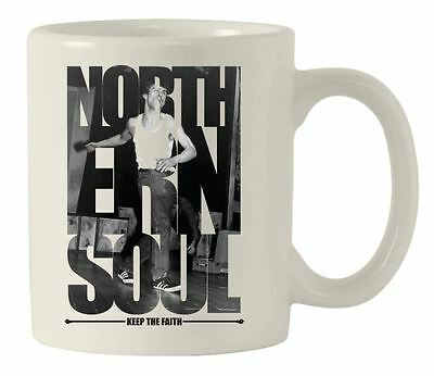 NORTHERN SOUL 'KEEP THE FAITH' DANCER MUG  - Wigan Casino Motown Soulboy Gift