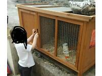 Large Guinea Pig Outdoor Hutch House - Excellent Condition