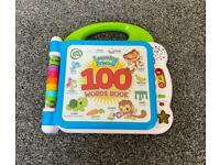 Leapfrog 100 Words Interactive Book English & French