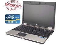 HP Elitebook 8440p Core i5 2.4GHz 4GB 500GB DVDRW Windows 7 64 Bit Laptop
