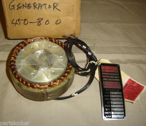 GEORATOR 05-941 ROTOR STATOR NO BRUSH GENERATOR 38-119