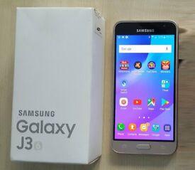 Samsung Galaxy J3 (6) Smartphone Unlocked Gold Plantinum
