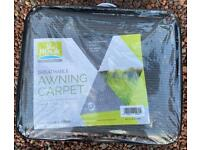 Awning carpet rot proof, brand new! 6m x 2.5m