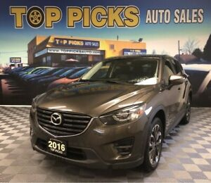 2016 Mazda CX-5 GT, AWD, Loaded!..One Owner, Accident Free!