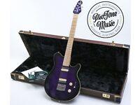 Ernie Ball Music Man Axis Super Sport BFR Family Reserve Trans Violet & COA & Case