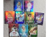Disney DVD Blu-ray O-Ring's Slipcovers Limited Edition Artwork