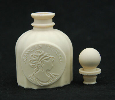 Perfume #1, Silicone Vase Mold Chocolate Polymer Clay Soap Candle Wax Resin