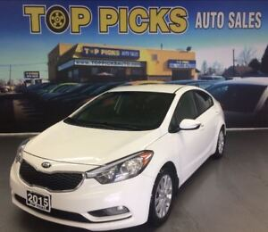 2015 Kia Forte LX, POWER GROUP, ALLOY WHEELS AND MORE!