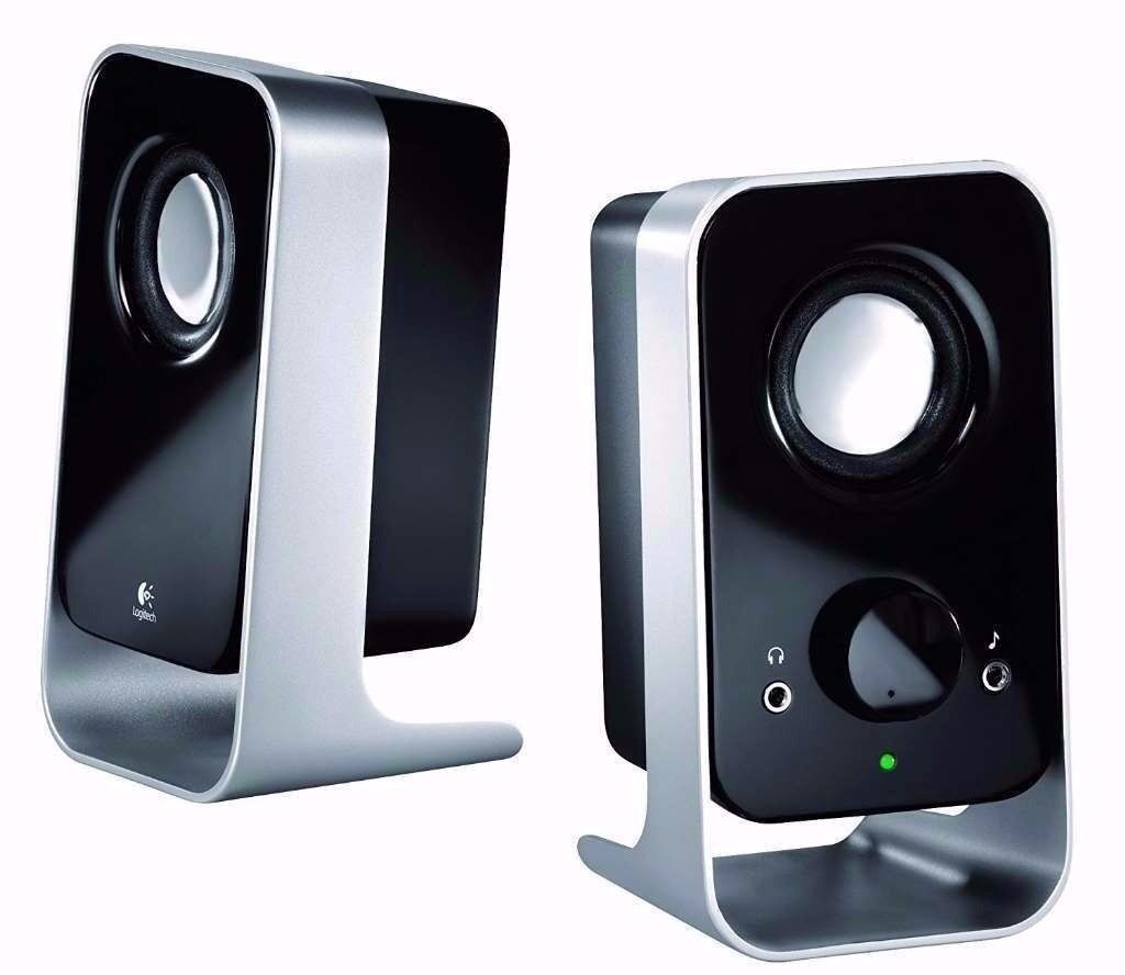 Logitech LS11 2.0 Stereo Speaker System for computer and other