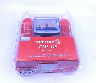 Tomtom ONE 125 3.5-Inch Portable GPS Navigator