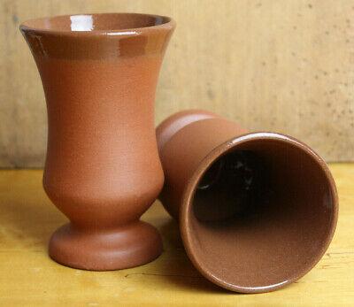 Weinbecher 0,15 L / 0,2L oder Weinkrug 1L aus Ton, Malawi / natur/transparent 1l Krug