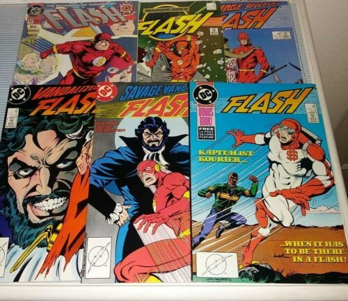 Flash (2nd series, 1987) 9 - 57, Annual 1-4   (individual issues)
