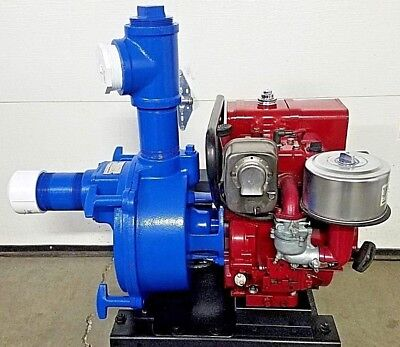 Monarch Tsp-3 Water Trash Pump 3 Self Priming Centrifugal Pump Briggs 8hp Ic