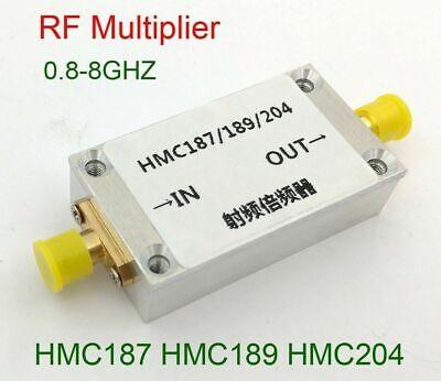 800mhz-8ghz Frequency Doubler Rf Multiplier Hmc187 Hmc189 Hmc204 W Aluminum Case