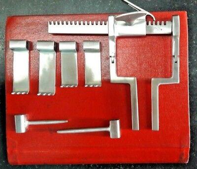 Lumbar Spine Retractor Set Neuro Ortho Spine Ramani Retractor Brand New
