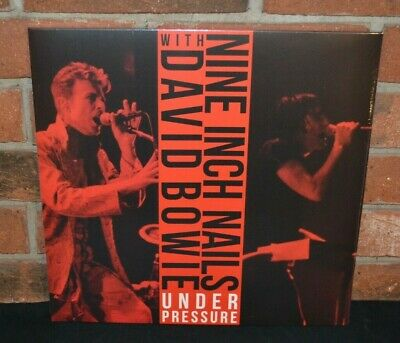 NINE INCH NAILS with DAVID BOWIE - Under Pressure, Ltd 2LP COLOR VINYL Gatefold