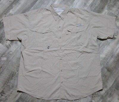Columbia PFG Men's Distant Water Vented Fishing Shirt size 2XL