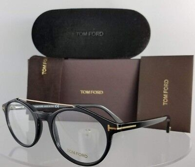 Brand New Authentic Tom Ford Eyeglasses FT TF 5455 001 50mm Black Frame