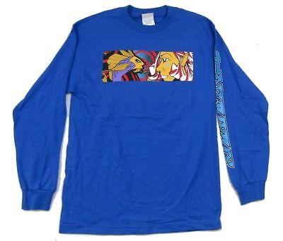 Incubus Koi Fish Girl Image Blue Long Sleeve Shirt New Official Band Merch