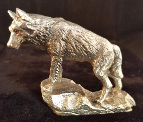 Masterworks Pewter Wolf 1990