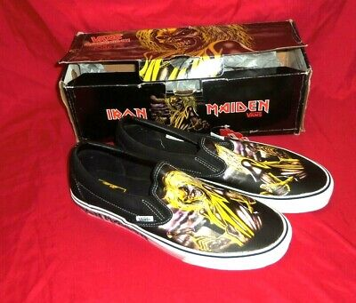 IRON MAIDEN Killers Eddie VANS Slip-on Shoes Men's Size 11.5 US  NEW (w/Box)