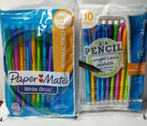 Paper Mate Mechanical Pencils 0.7mm #2 Lead 15 Packs of 10