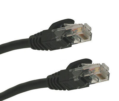 15 Feet RJ45 UTP 24AWG High Speed Cat5e Networking Cable Ethernet LAN Patch Cord