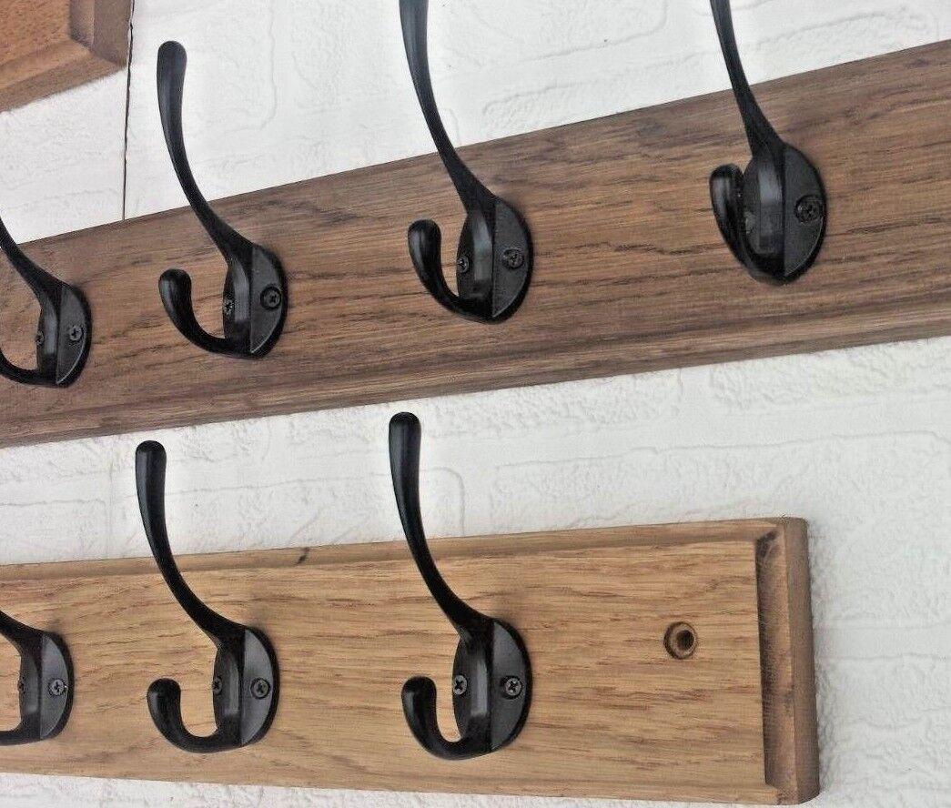 Handmade Wooden Pallet Coat Rack With Shelf Reclaimed Wood