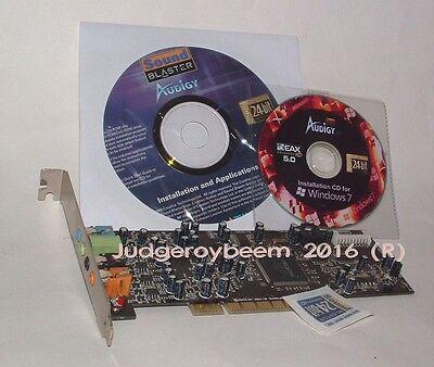 Creative Sound Blaster Audigy SE PCI sound card