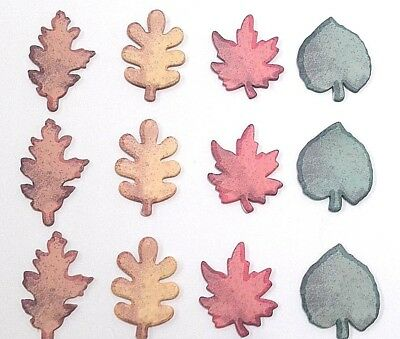 600 Leaf Sticky Notes Memo Paper Sticker Pads 12x50 Sheets Halloween Fall Leaves