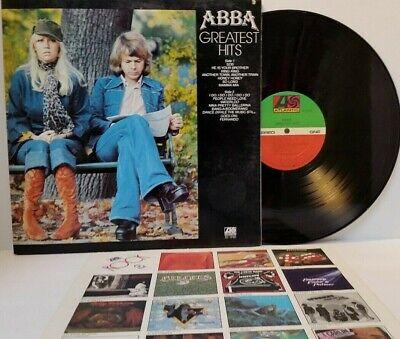 ABBA Greatest Hits Vinyl LP Atlantic SD 18189 - Play Tested VG+   *A3