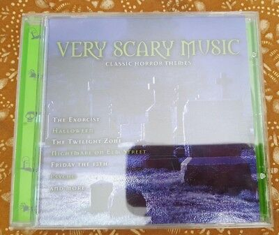 Very Scary Music: Classic Horror Themes by Roy Shakked (CD, 1999) - Scary Halloween Rock Music