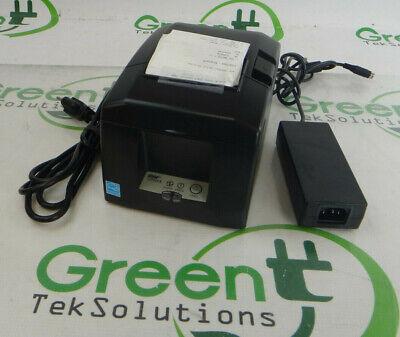 Star Micronics Tsp654iibi2 Gray Thermal Bluetooth Receipt Printer W Adapter