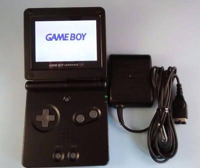 MINT NEW Nintendo Game Boy Advance SP - Black - Handheld System AGS-101 BRIGHTER segunda mano  Embacar hacia Argentina