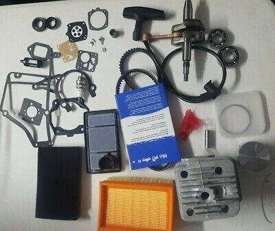 Stihl Ts400 Cut-off Saws Overhaul Rebuild Kit With Crankshaft Nikasil