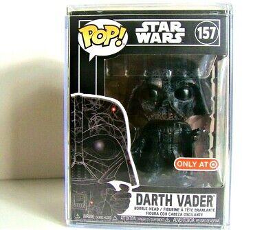 Funko Pop Star Wars Darth Vader #157 Futura Hard Stack Target Exclusive