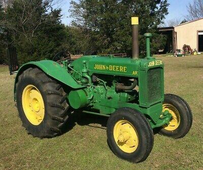 1945 John Deere Ar Unstyled Tractor