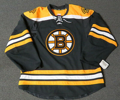New Boston Bruins Authentic Team Issued Reebok Edge 2.0 Blank Hockey Jersey NHL Authentic Reebok Nhl Hockey Jersey
