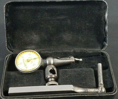 Starrett No 711-f Last Word Dial Test Indicator With Case