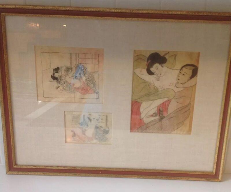 Asian Erotic Art Antique