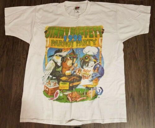 1998 Vintage Jimmy Buffett Concert T Shirt