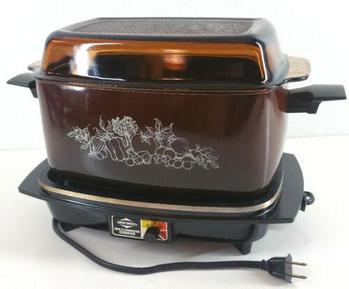 Vintage Westbend Multi-Purpose 6 Qt. Slow Cooker