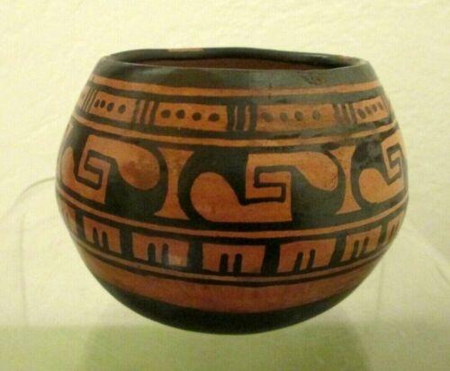 Vintage Native American Pottery Bowl / Hopi Pueblo ???
