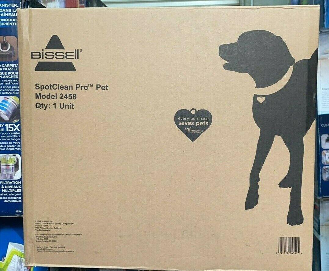 Bissell SpotClean Pet Pro™ Portable Carpet Cleaner - Purpl