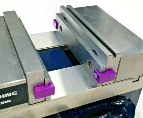 Magkeepers Purple Magnetic Parallel Keepers, Holders,Dual Magnets! Vise CNC Kurt