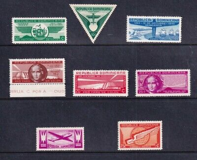 DOMINICA STAMP AIRMAIL MNH/OG STAMPS COLLECTION LOT  #2