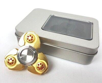 Hand Fidget Spinner Pro Super Heavy Metal FInger Figit toy EDC with Box